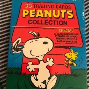 Vintage Peanuts Trading Card Set